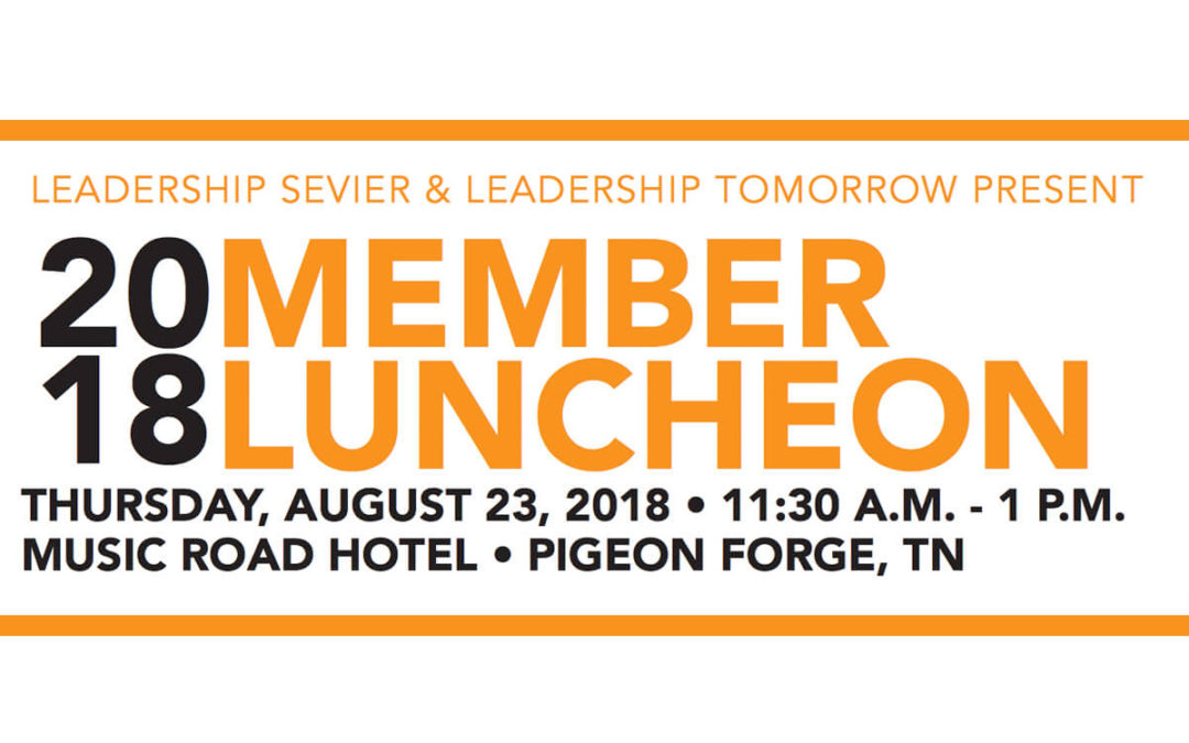 2018 Member Luncheon – Aug. 23