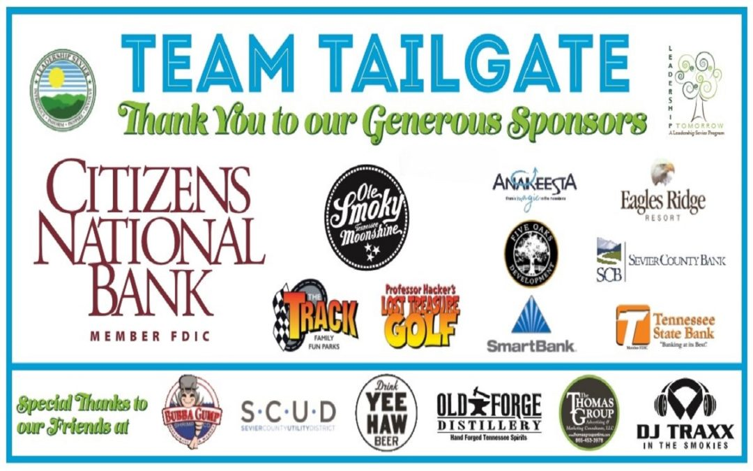 Thank You Team Tailgate Sponsors!!